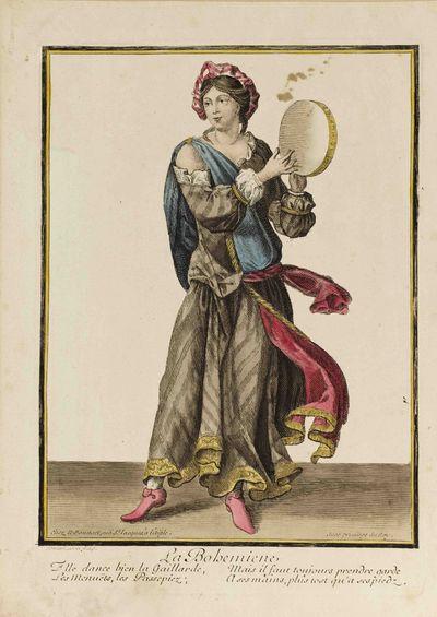 Chez N. Bonnart, rue S.t Jacques, ŕ l'Aigle, avec Privilége du Roy, 1680 but reproduction based o...