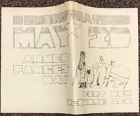 Demonstration May 20. Armed Farces Day. Ft. Dix, McQuire AFB [broadside]