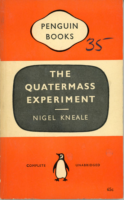 : Penguin Books, 1959. Small octavo, pictorial wrappers. First edition. Prints Kneale's revised scri...
