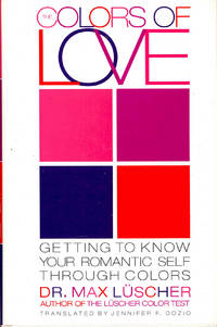 The Colors of Love : Getting to Know Your Romantic Self Through Colors. [How Color can determine your romantic type; Colors of your romantic experience; Understanding the many faces of love: ove, jealousy, falling in love, magnetism and attraction, true love, learning to cope with disappointments and betrayals, the responsibilities of love, cultivating a healthy self-image and finding your inner balance]