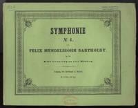 [Op. 90]. Symphonie No. 4 ... [Piano 4-hands] für Orchester ... Op. 90. No. 19 der nachgelassenen Werke. Klavierauszug zu vier Händen ... Pr. 2 Thlr. 15 Ngr.