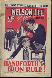 """image of THE NELSON LEE LIBRARY; The St. Frank's Weekly: New Series No 22, October, Oct. 16, 1926 (""""Handforth's Iron Rule!"""")"""