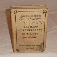The Hand of Ethelberta - first American printing