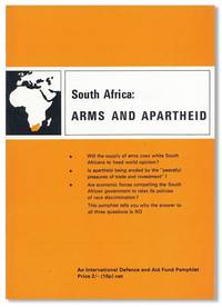 South Africa: Arms and Apartheid by [SOUTH AFRICA] [APARTHEID] - Paperback - First Edition - 1970 - from Lorne Bair Rare Books and Biblio.com
