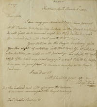 "image of Autograph letter signed (""Benjn. West""), to Charles Burney, Jr, regarding Fuseli's lectures to the Royal Academy"
