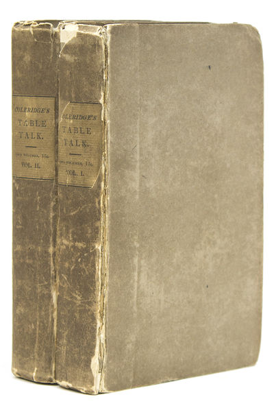 London: John Murray, 1835. First edition, first issue, without Index in vol. II. Engraved frontispie...