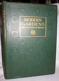 """Modern Gardens British and Foreign; Special Winter Number of """"The Studio"""" 1926-27"""