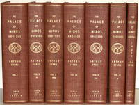 THE PALACE OF MINOS. A COMPARATIVE ACCOUNT OF THE SUCCESSIVE STATES OF THE EARLY CRETAN CIVILIZATION AS ILLUSTRATED BY THE DISCOVERIES AT KNOSSOS. [5 VOLUMES IN 7 INCLUDING INDEX]