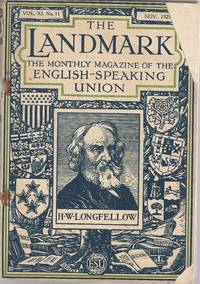 THE LANDMARK: The Monthly Magazine of the English-Speaking Union THE LANDMARK: The Monthly...