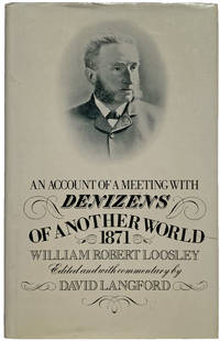 An Account of a Meeting with Denizens of Another World.