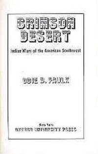 Crimson Desert Indian Wars of the American Southwest