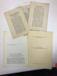 A collection of offprints of historic experimental papers in 20th century biological sciences: biochemistry, cell biology, genetics, molecular biology. More than half of the items included are from winners of the Nobel Prize for Physiology or Medicine, or Chemistry and other prominent scientists are included. Approximately 125 items