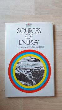 Sources of energy.