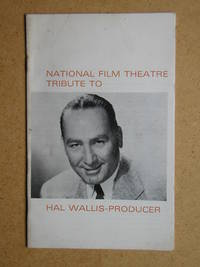 National Film Theatre Tribute to Hal Wallis - Producer.
