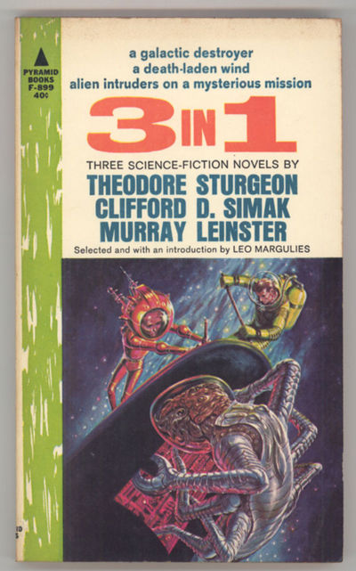 New York: Pyramid Books, 1963. Small octavo, pictorial wrappers. First edition. Pyramid Books F-899....