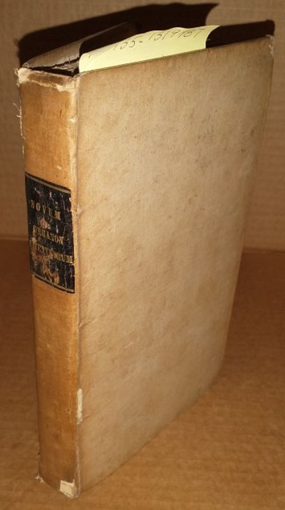 London: Baldwin & Cradock, 1829. Hardcover. Octavo; Fair/no DJ; Hardcover w/out DJ; Spine, white (ta...