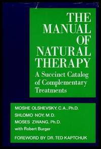 image of THE MANUAL OF NATURAL THERAPY - A Sussinct Catalog of Complementary Treatments
