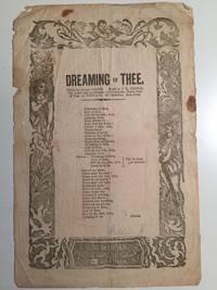 Dreaming Of Thee (Broadside)