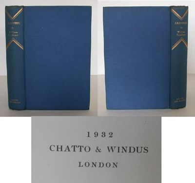 Chatto & Windus, 1932. First Edition. Hardcover. Very Good/No Jacket. Published in London by Chatto ...