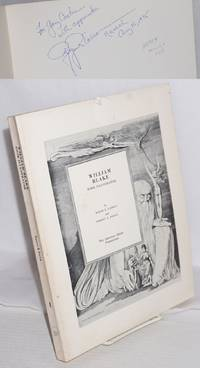 William Blake:  book illustrator; a bibliography and catalogue of the commercial engravings, volume I; plates designed and engraved by Blake