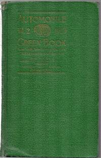 image of 1923 Automobile Green Book Vol. 2 New York, New Jersey, Pennsylvania,  Canada and the East
