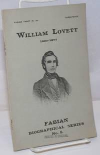 image of William Lovett, 1800-1877