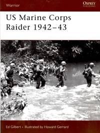 Warrior No.109: US Marine Corps Raider 1942-43