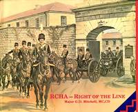 image of RCHA - Right of the line: an anecdotal history of the Royal Canadian Horse Artillery from 1871