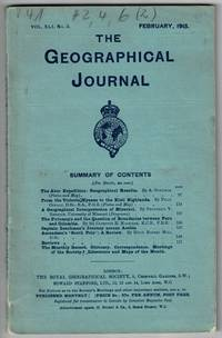 The Abor Expedition: geographical results. As contained in Vol. XLI, No. 2 of The Geographical Journal