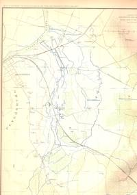 MAP: 4 Section Map, Including Artillery Positions Of the Army of the Potomac, Reconnaissance...
