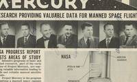 A NASA Project Mercury Brochure With Photographs of the First Americans in Space - The Mercury 7 - Signed by All An extremely uncommon memento of the birth of the U.S. manned space program.