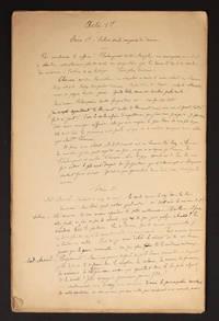 image of [Manuscrits autographes] Théâtre et Poésies