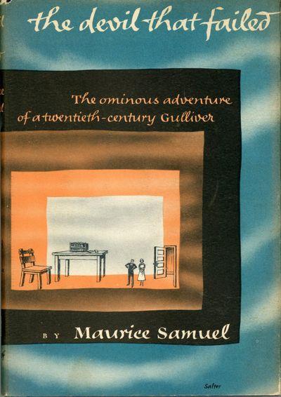 New York: Alfred A. Knopf, 1952. Octavo, cloth. First edition. Kafkaesque dark fantasy satire, half ...