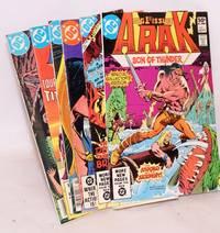 Arak, Son of Thunder [6 issues] #1, 2, 5, 14, 35 & 36