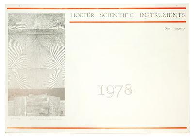 Calendar. San Francisco: Two Windows Press and JPP Graphic Arts Center, 1978. Calendar, 12 x 17 1/8�...