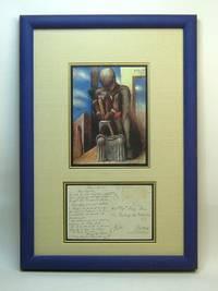 Signed Original Autograph Display