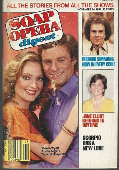 SOAP OPERA DIGEST - Soap Opera Digest November 24, 1981