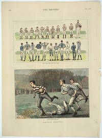 image of Football Sketches: Boys versus Men--The Rival Teams; Running with the Ball