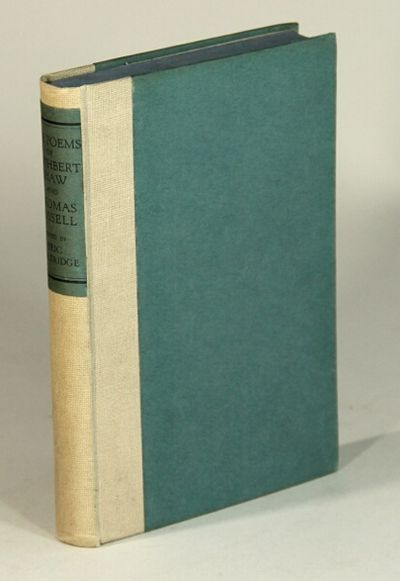 London: Dulau and Co, 1925. First edition limited to 575 copies, 12mo, pp. 165, ; original cream clo...