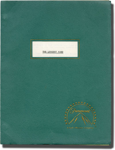 Hollywood: Paramount Pictures, 1973. Revised Final Script for the 1974 film,