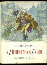 A Christmas Carol Book.A Christmas Carol By Charles 1812 1870 Illustrated By Libico Maraja Dickens First Edition 1958 From Little Stour Books Pbfa And Biblio Com