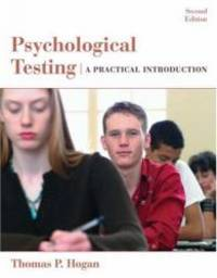 image of Psychological Testing: A Practical Introduction