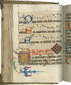 View Image 2 of 3 for Noted Breviary for select feasts; short Mass texts in German; recipes (medicinal and cosmetic); In L... Inventory #TM 947