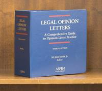 image of Legal Opinion Letters. A Comprehensive Guide. 3rd ed. thru 2021-1 supp