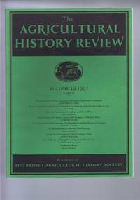 The Agricultural History Review Volume 39, 1991, Part II