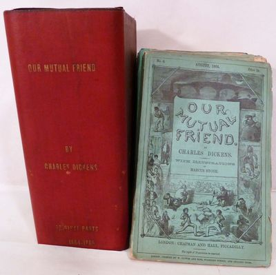 London: Chapman and Hall, 1865. First edition. Hardcover. Orig. green wrappers housed in very good m...