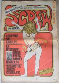 SCREW; The Sex Review by  Al (Editor) Goldstein - 1970 - from Alta-Glamour Inc. and Biblio.com