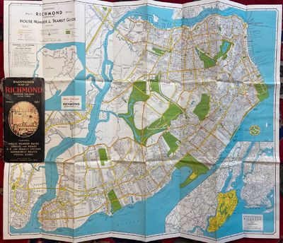 New York: Hagstrom Company. Map. Lithograph. Pamphlet measures 8 3/4