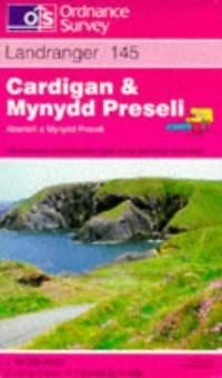 image of Cardigan and Mynydd Preseli (Landranger Maps)