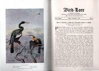 image of Vintage July - August 1925 Issue of Bird-Lore Magazine with Color Frontis